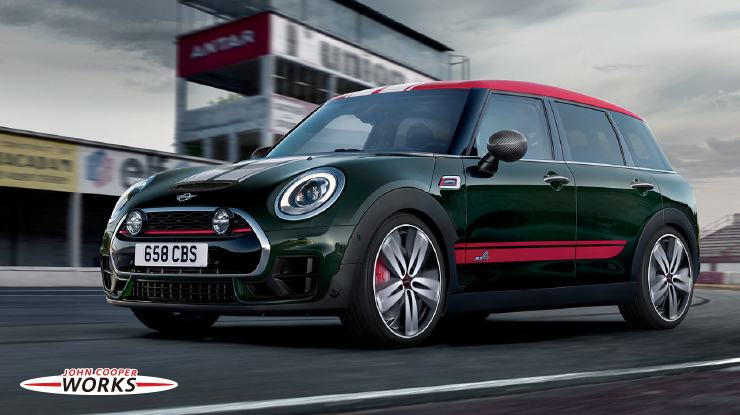 THE MINI CLUBMAN. MINI JOHN COOPER WORKS  TUNING ACCESSORIES.