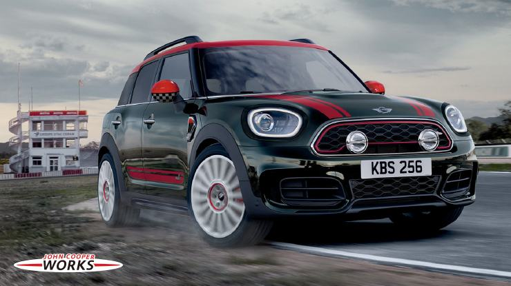 THE MINI CROSSOVER. MINI JOHN COOPER WORKS  TUNING ACCESSORIES.