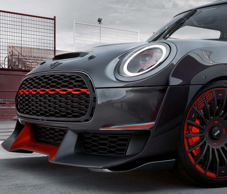 MINI John Cooper Works GP Concept – front view/grille