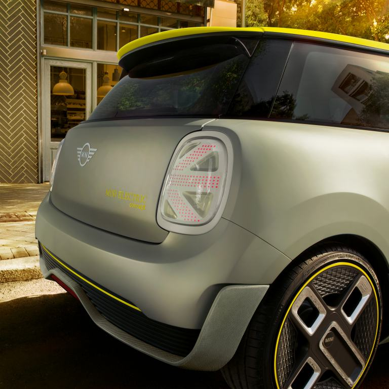 MINI Electric Concept – rear close-up