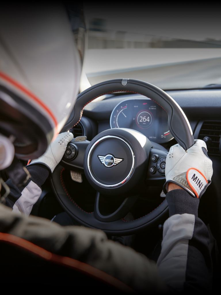 THE NEW MINI John Cooper Works GP – steering wheel – cockpit