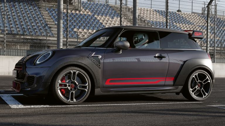 THE NEW MINI John Cooper Works GP – side decals – chili red